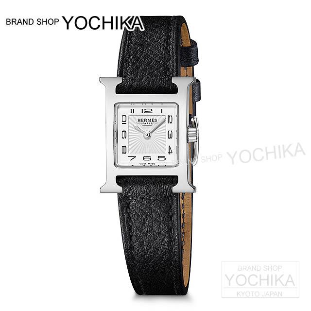 wholesale dealer 15f82 0cc84 HERMES エルメス レディース 腕時計 Hウォッチ ミニ