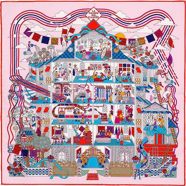 online retailer f32aa e3d81 HERMES エルメス カレ45 スカーフ